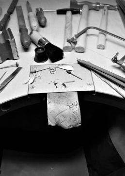 echt-es Schmuckdesign & Handwerk Nachhalitgkeit Werkstattfotos